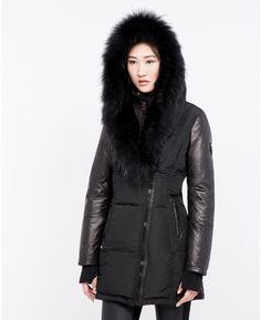 Grace Down Parka With Fur Trim | Rudsak | Coat, Jacket