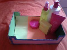 Ik heb een doos leuk opgepimpt! Leuk en makkelijk!❤