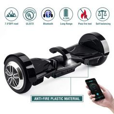 Koowheel Off Road Hoverboard All Terrain Hoverboard Bluetooth Speaker LED Certified Two Wheel Self Balancing Scooter Adults Kids,App Max) Black Japan Info, Honda Ruckus, Moped Scooter, All Terrain Tyres, Max Black, Gps Tracking, Go Kart, T 4, Offroad