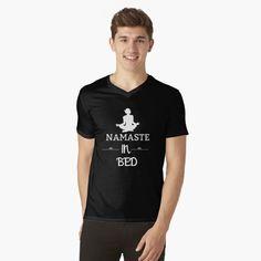 Funny Yoga Poses, My T Shirt, V Neck T Shirt, Workout Humor, Party Shirts, Tshirt Colors, Funny Shirts, Mens Tops, Printed
