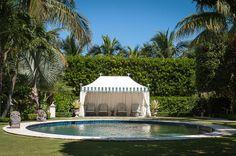 Poolside Palm Beach style