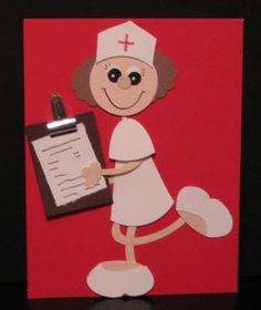 Blinkin', Thinkin', & Inkin': Nurse Stampin' Up! Paper Punch Art, Punch Art Cards, National Nurses Day, Birthday Wishes Cards, Craft Punches, Owl Punch, Get Well Cards, Scrapbooking, Paper Cards