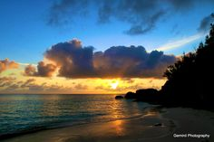 Bermuda sunset. Pin provided by Elbow Beach Cycles http://www.elbowbeachcycles.com  #Bermuda +Bermuda