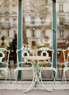 #Paris Cafe Art Print