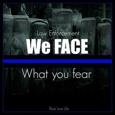 what you fear we face...