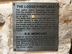 Day 9 of Bingo - Fireplace - Rowleys Bay Resort