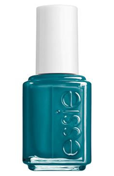 Essie 'Go Overboard Collection - Go Overboard' Nail Polish available at #Nordstromweddings  what do u think for something blue? nails?!