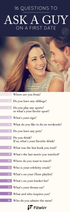 Questions to ask a guy when you first start hookup