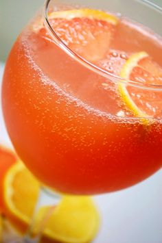 Champagne Citrus Punch