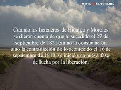 """""""Cuando los herederos de Hidalgo y Morelos..."""" Fragmento tomado de """"El periodismo durante la guerra de Independencia"""" de Emmanuel Carballo (Jus 2010)"""