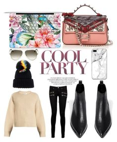 """""""COOL PARTY"""" by missmyc ❤ liked on Polyvore featuring Eugenia Kim, Acne Studios, Chloé, Fendi and Paige Denim"""