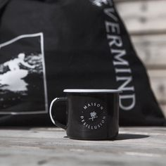 Maison Desillusion Camp Mug black edition available only on htttp://store.dslmag.com ( link on our bio ) by desillusion