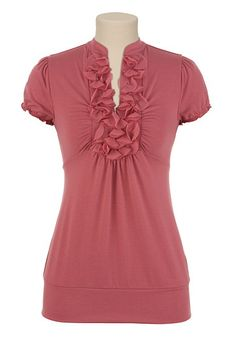 Actual shirt I bought at Maurices' to go with the necklace and bracelet.