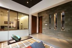 love the swing - The Wall House by Dipen Gada & Associates