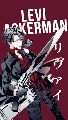 Levi Ackerman V2 ~ Korigengi | Wallpaper Anime