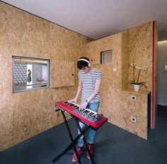 Pop-up House en Madrid. TallerDE2 Arquitectos.