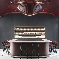 The legendary Les Bains, a former Century bathhouse turned nightclub, is reborn into a hybrid hotel dripping with soulful decadence. Cafe Bar, Cafe Restaurant, Restaurant Design, New York Edition Hotel, Chicago Athletic Association, Hudson Hotel, Hotel France, Deck Bar, Roman And Williams