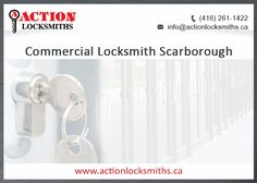 Are you on the east side looking for a reliable Commercial Locksmith in Scarborough? You found your guys! Contact us 24/7. We're here to help!