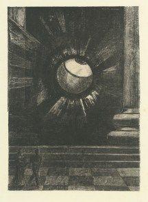 Lithographie de Redon