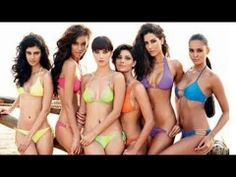Calendar Girls! For a change, catch up with the skimpily dressed 'bikini girls' of Kingfisher Calendar in clad sensuous sarees designed by Anita Dogre at the launch of KF calendar 2014