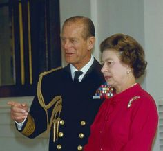 1984: The Queen and Prince Philip