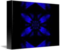 """""""Fire+Lotus+Midnight+Blue++""""+by+Sherrie+Larch,+Northern+California+//+The+lotus+flower+was+a+symbol+of+the+sun+in+ancient+Egypt.+The+lotus+symbolized+rebirth+and+renewal+to+the+ancient+Egyptians.+The+lotus+is+also+found+in+philosophy+and+belief+systems+including+Hinduism+and+Buddhism+having+various+meanings+by+a+lotus+color+and+represents+the+...+//+Imagekind.com+--+Buy+stunning+fine+art+prints,+framed+prints+and+canvas+prints+directly+from+independent+working+artists+and+photographers."""
