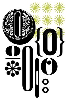 Morla Typographic Letter  Number Posters Large  Mark And Graham