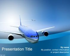 Airline PowerPoint template is a high quality presentation theme for PowerPoint that you can download for presentations on airlines and flights