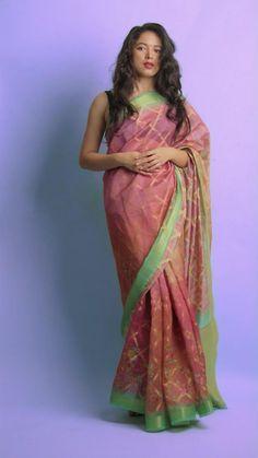 Festival Hair, Festival Makeup, Diwali Outfits, Wedding Gowns With Sleeves, Bollywood Saree, Durga, Saree Wedding, Asian Fashion, Ethnic