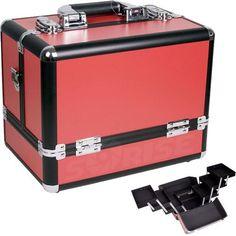 12 inch Red Panel w/Black Trim Travel Cosmetic Organizer Makeup Artist Train Case, http://www.amazon.com/dp/B004MT3IJU/ref=cm_sw_r_pi_awd_4WAFsb18ZCBHA