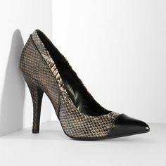 Simply Vera Vera Wang Snakeskin High Heels - Women #Kohls