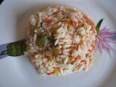 Κρητικά τραπεζώματα: ΡΙΖΟΤΟ ΜΕ ΛΑΧΑΝΙΚΑ Rice, Food, Essen, Yemek, Jim Rice, Meals