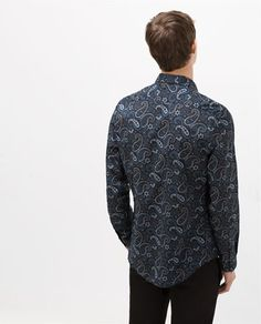 cb02a74898 Image 3 of PRINTED SHIRT from Zara
