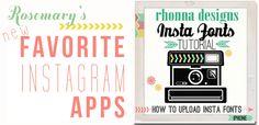 App Happy II: More Instagram Apps #instagram
