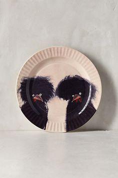 Anthropologie EU Holly Frean Gallus Dessert Plate