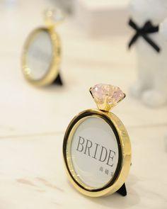 まるでキラキラのダイヤモンドリング*Francfrancの【リングフォトフレーム】が可愛すぎ♡ | marry[マリー]