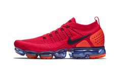 Nike Goes Red Hot With Latest Air VaporMax Flyknit 2.0 Tênis, Sapatos, Moda