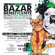 BONDE DA BARDOT: SP: 1º Bazar Beneficente e Campanha de Adoção de pets acontecem em Mauá, neste sábado (02/04)