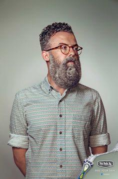 ¡Aféitate! by Schick  #Marketing Si eres de los que aún lleva barba, después de ver la campaña de #Schick, te afeitarás ¡seguro! :D #SchickXtreme3