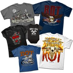 Custom Screen Printing in Austin, TX | Outhouse Designs | Our Work  ROT Rally.