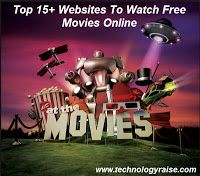 Top 15 Websites To Watch Free Movies Online ~ Technology Raise -Watch Free Latest Movies Online on Movie Hacks, Movie Gifs, Movie Tv, Tv Hacks, Free Movie Sites, Movie Websites, Free Movies Online Websites, Awesome Websites, Movies Free