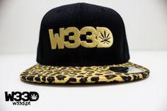 W33D Leopard Snapback #W33D #Leopard #Snapback