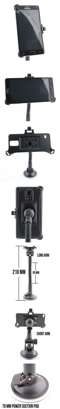 Samsung Galaxy Note 4 Car Windshield Mount http://www.usbgeek.com/products/galaxy-note4-mount