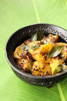 Curry de bananes plantain inde du sud _ Plantain and sesame curry (south india)