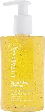 ULTASparkling Lemon Moisture Gel Hand Soap Vitamins For Skin, Moisturizer, Lemon, Fragrance, Sparkle, Soap, Beauty, Yellow, Moisturiser