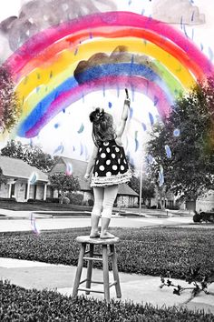 Fun with Photoshop: Layer your child's art over their photo