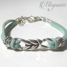 Bracelets, Silver, Leather, Beautiful, Jewelry, Shape, Beautiful Things, Beading, Jewlery