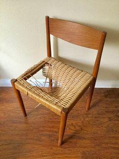 16 best ccc vintage mid century modern danish cord weaving images rh pinterest com
