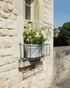 Strong and sturdy steel galvanized window boxes from Garden Requisites. Built by. Strong and sturd Over Door Canopy, Door Canopy Porch, Porch Doors, Porch Awning, Victorian Windows, Victorian Porch, Metal Trellis Panels, Door Canopy Designs, Porch Trellis