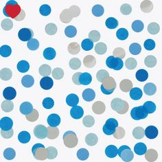 Confetti-blauw-zilver
